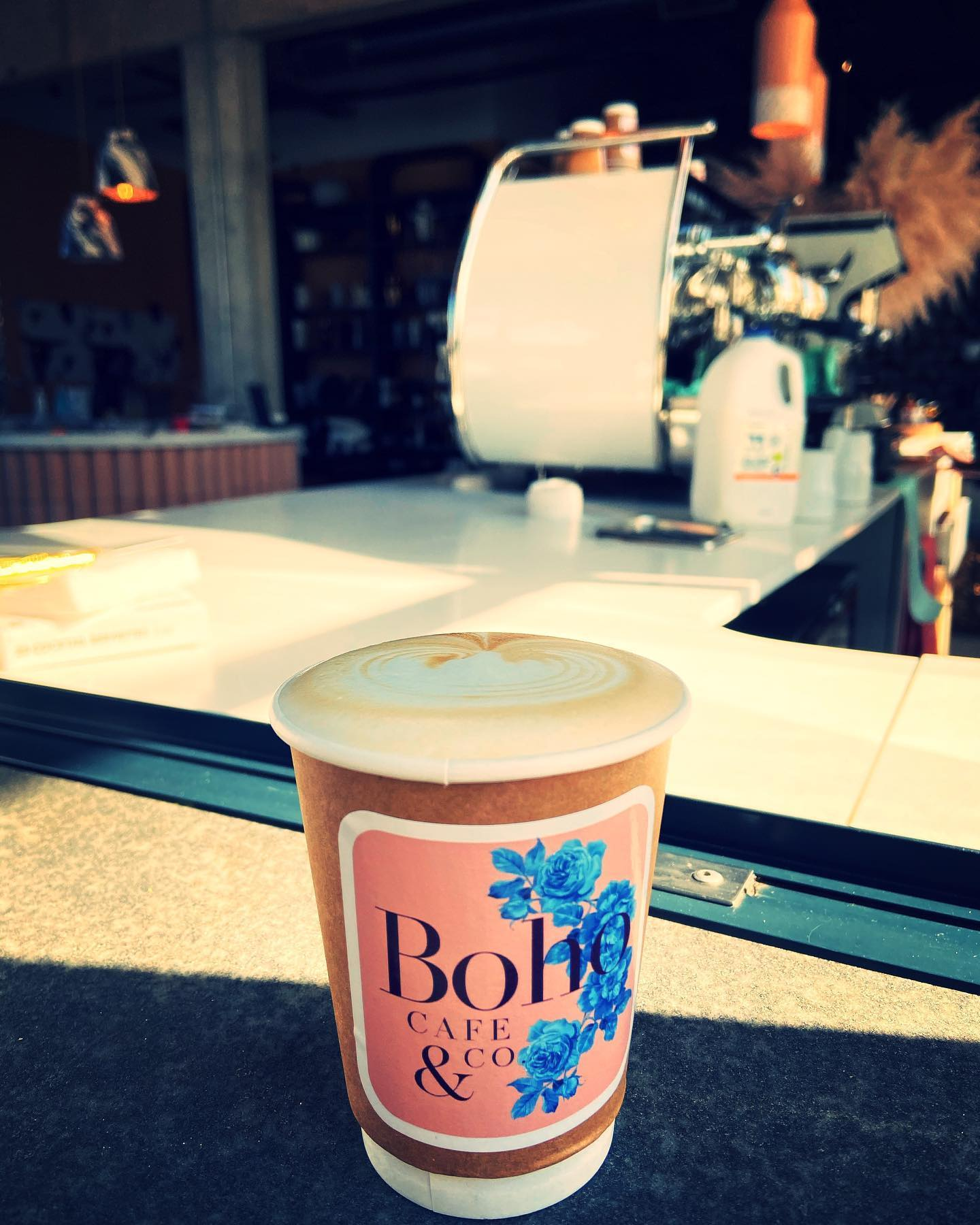 My first commercial cappucino since Lockdown at Boho Cafe & Co in RandSteam Shopping Centre. Taste Felt like the old days when my grandparents used to take us for Coffee & Toasted Cheese at Jan Smuts airport. Missed my Coffee. Our Coffee Shout of the week @bohocafeco